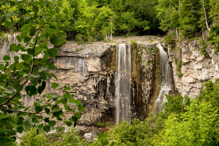 encompasses: Situated in the very tiny village of Eugenia, Eugenia Falls Conservation Area encompasses 23 hectares of Niagara Escarpment, river valley and upland forests. A part of the Grey County Waterfalls Tour. The all-season trail winds along the edge of Cuckoo V