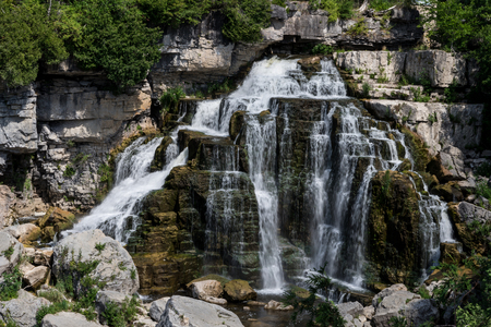 """Known as """"the best waterfalls in the area"""" is the most visited, anytime of year!   One of three waterfalls that surround the City of Owen Sound, Inglis Falls is the best known and most visited. Situated in the heart of the 200-hectare Inglis Falls Conserv"""