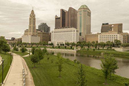 Columbus  is the state capital and the most populous city in Ohio