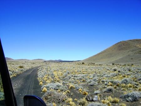 La Payunia에가는 길