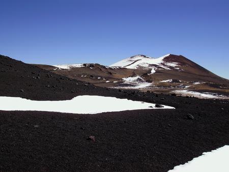 La Payunia 회로 화산