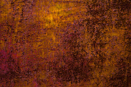 metal structure: Detailed structure of rusty metal. dark background