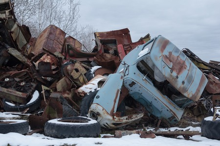 chernobyl: abandoned radioactive vehicles took part in the liquidation of Chernobyl disaster