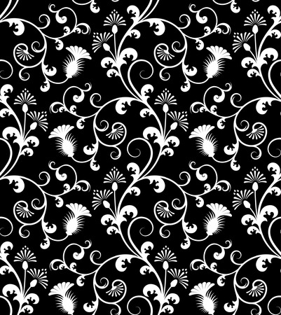 Seamless floral pattern. Stock Vector - 2709334