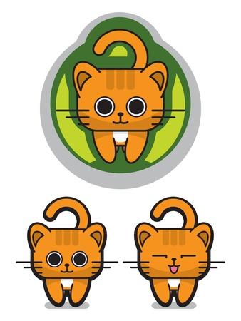 귀여운 야옹 고양이