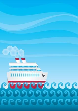 steamship: Zonsondergang in de zomer veld