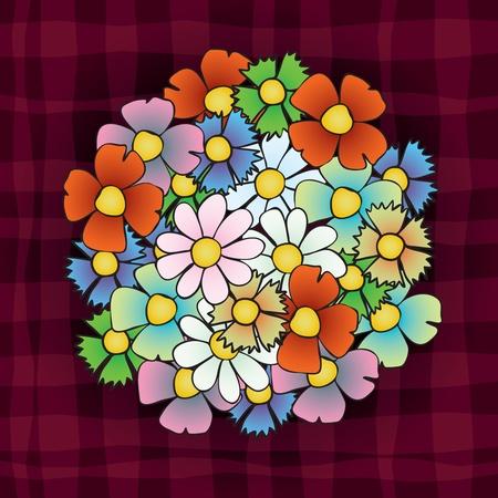 gratitude: Flowers Illustration