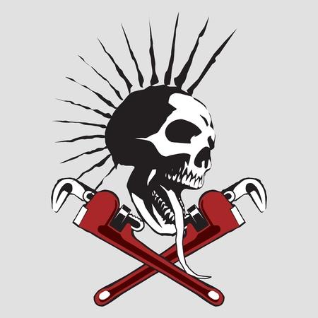 skull Stock Vector - 9484529