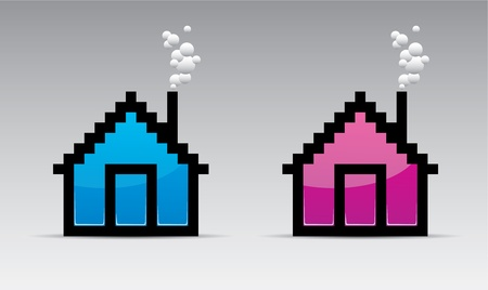 pixelart: house