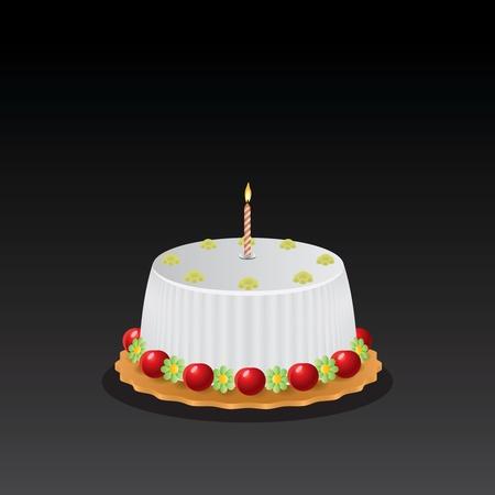 cake Stock Vector - 10014331