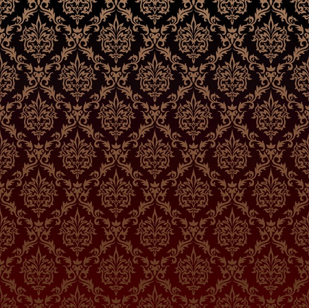 victorian wallpaper: the victorian seamless structure  Illustration