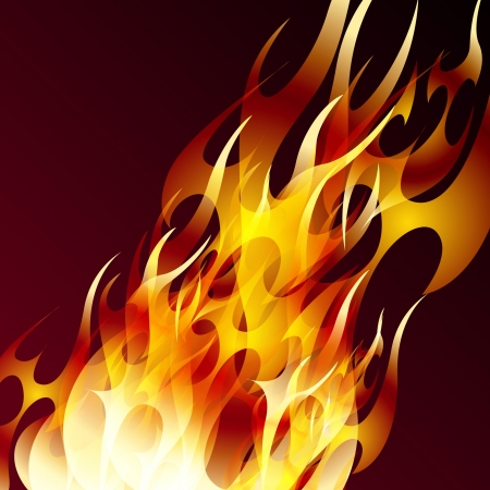 conflagration: Abstract background for various needs. Illustration