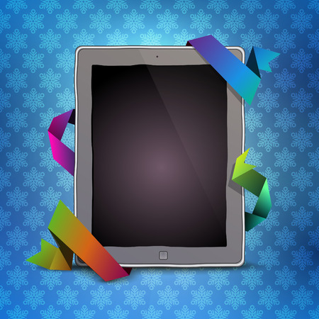 digital: Digital pad Illustration
