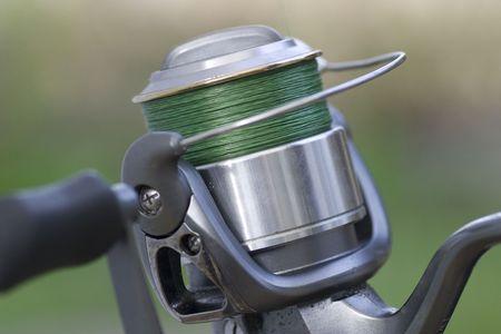 Fishing Reel Stock Photo