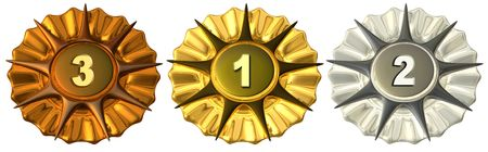 accolade: Medals - 123 place