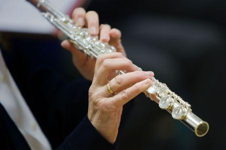 Flutists Woman photo