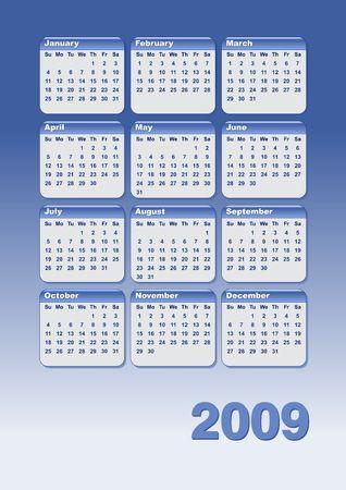 almanac: Calender 2009