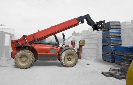 stacking: Industrial Machine Stacking - Isolated