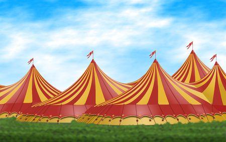 Circus Tent Standard-Bild