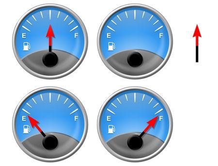 gas gauge: Gas Gauge