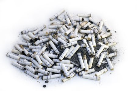 deleterious: Cigaret Butts