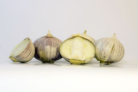 Single Clove Garlic Stock Photo - 3859463
