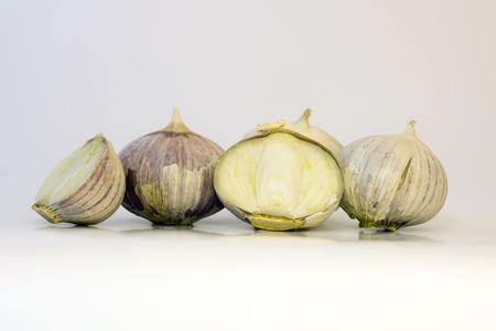 Single Clove Garlic Stock Photo - 3859463