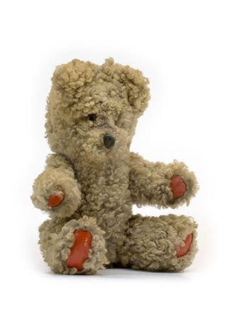 Teddy Bear - Fifty years old Stock Photo