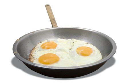 Egg Pan Stock Photo - 4106004