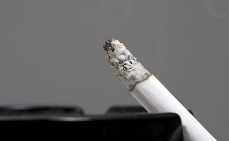 deleterious: Cigarette Smoking Closeup