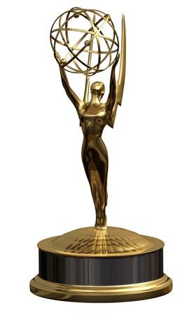remise de prix: Award - isol� Banque d'images