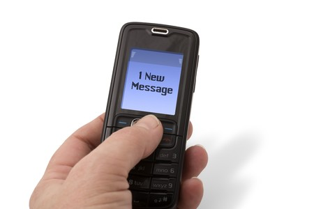 new message: Mobile Phone - New Message