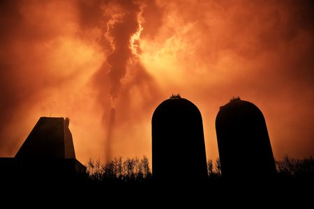 Factory Smoke photo