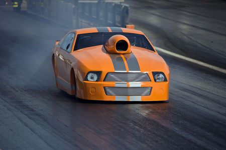 Car - Dragster Stock Photo - 4867189