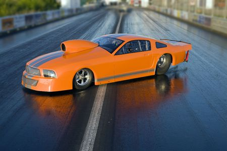 dragstrip: Car - Dragster