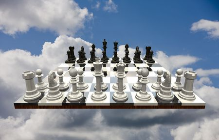 Chess Game - isolated photo