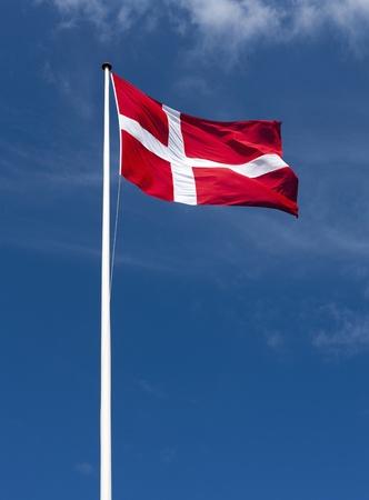 Flag - Danish Stock Photo