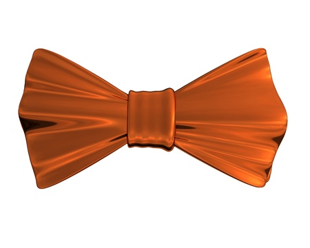 formal party: Bowtie Bronze, isolated