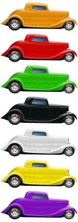 Vintage Car Coupe