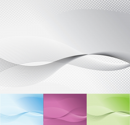 Corporate abstract background
