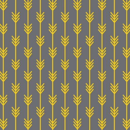 monochromatic: Seamless Arrow Pattern Background Illustration