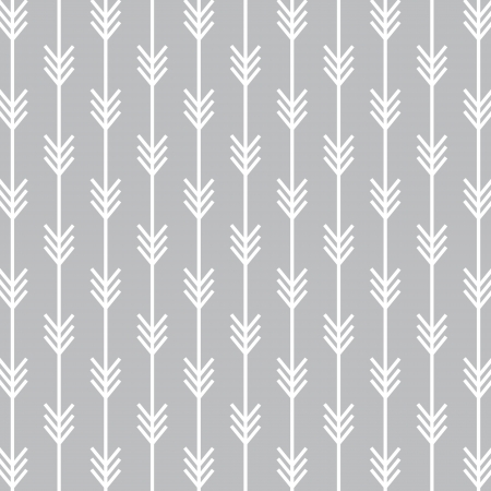 Seamless Arrow Pattern Background Çizim