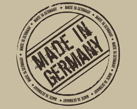 Grunge stamp made in Germany Vector