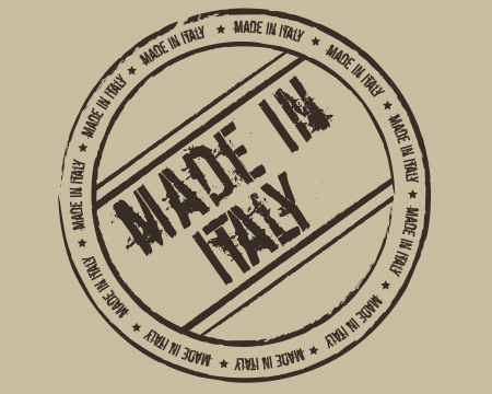 made in italy: Grunge stamp made in Italy Illustration