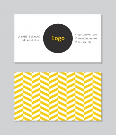 business card background: Modern Business Card Template