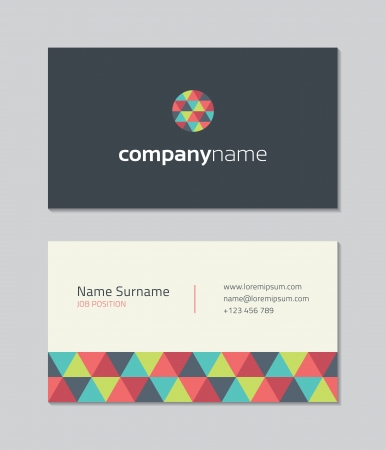business: Modern Business Card Template
