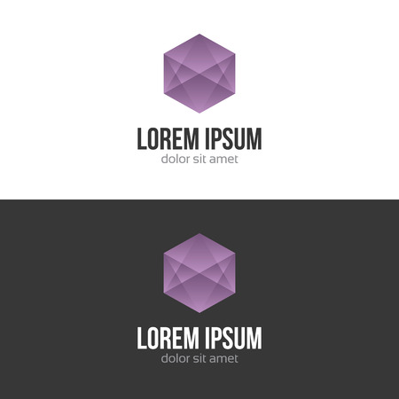 Business abstract logo design template Vector