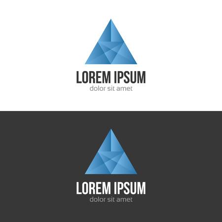 logotipo abstracto: Negocios logo abstracto plantilla de dise�o