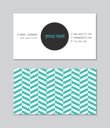 business banner: Business card