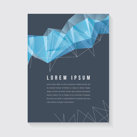 Abstract design for poster or brochure Ilustracja